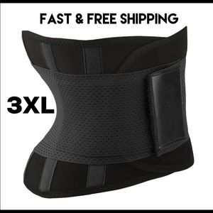 BLACK WAIST SHAPER BELT BEST PRICE